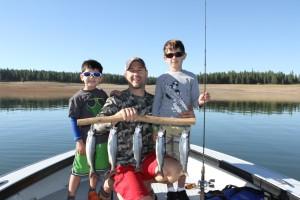 Stampede Kokanee Fishing
